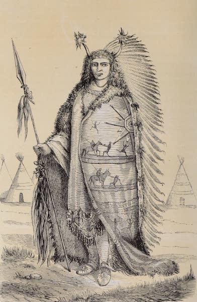 Voyage Pittoresque dans les Grands Deserts du Nouveau Monde - Chef Dacota (1862)