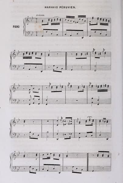 Voyage Pittoresque dans les Grands Deserts du Nouveau Monde - Sheet Music (I) (1862)