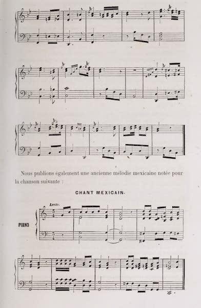 Voyage Pittoresque dans les Grands Deserts du Nouveau Monde - Sheet Music (II) (1862)