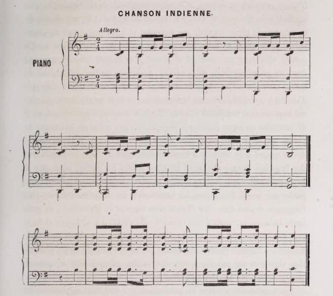 Voyage Pittoresque dans les Grands Deserts du Nouveau Monde - Sheet Music (III) (1862)