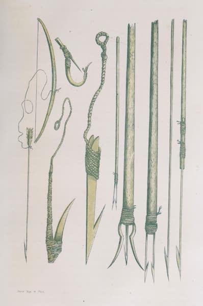 Voyage Pittoresque dans les Grands Deserts du Nouveau Monde - Ustensiles de Peche (1862)