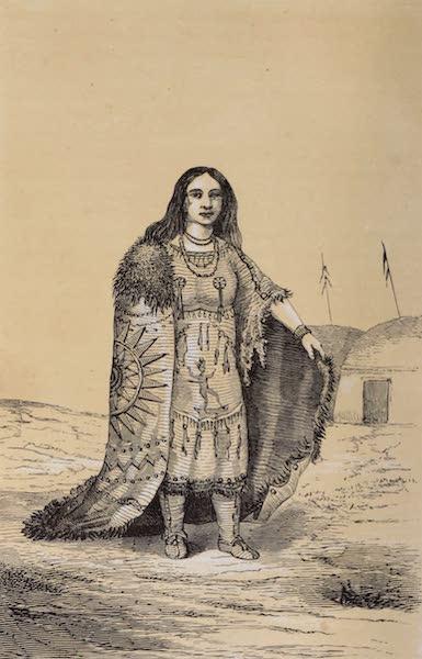 Voyage Pittoresque dans les Grands Deserts du Nouveau Monde - Femme Indienne (1862)