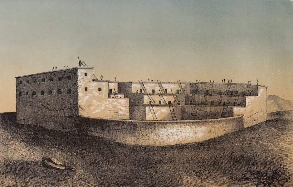 Voyage Pittoresque dans les Grands Deserts du Nouveau Monde - Vue dun Pueblo (1862)