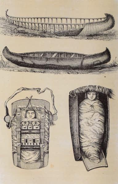 Voyage Pittoresque dans les Grands Deserts du Nouveau Monde - Canots et Bergeaux (1862)