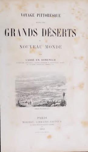 French - Voyage Pittoresque dans les Grands Deserts du Nouveau Monde