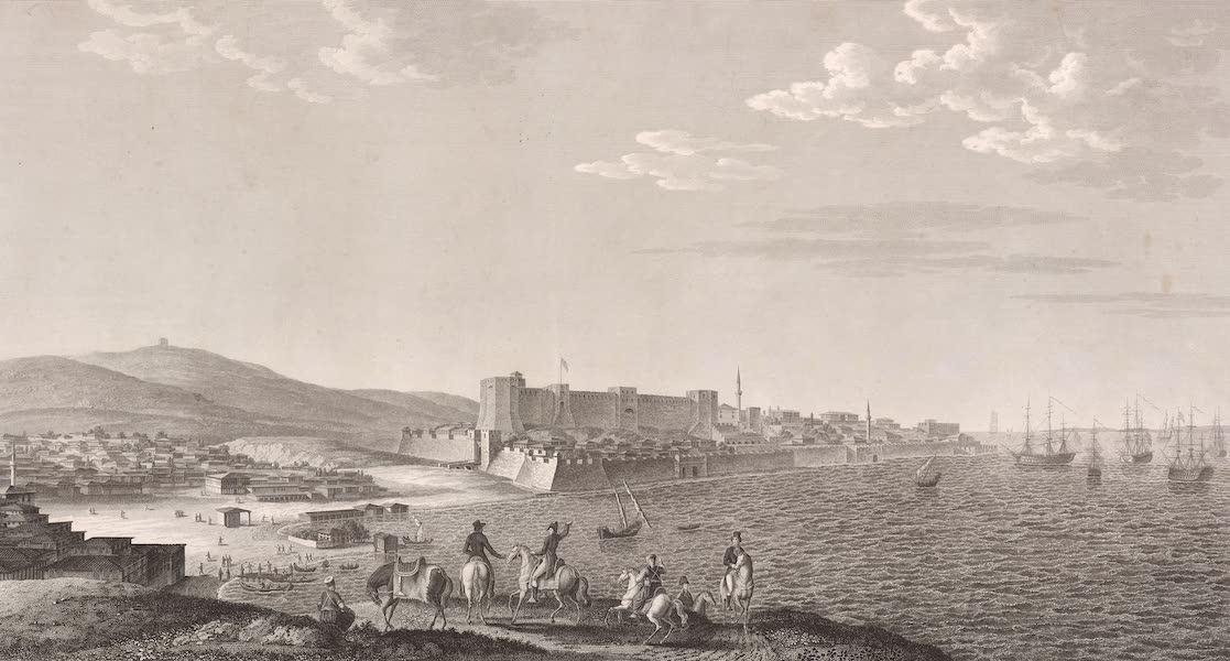 Voyage Pittoresque de Constantinople et des Rives du Bosphore Vol. 2 - No. 1. Vue de l'isle de Ténédos, dans l'Archipel (1819)