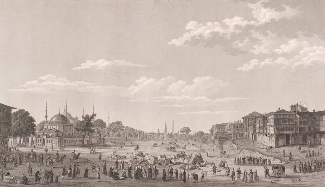 Voyage Pittoresque de Constantinople et des Rives du Bosphore Vol. 2 - No. 13. Grande place de l'Hippodrome, à Constantinople (1819)