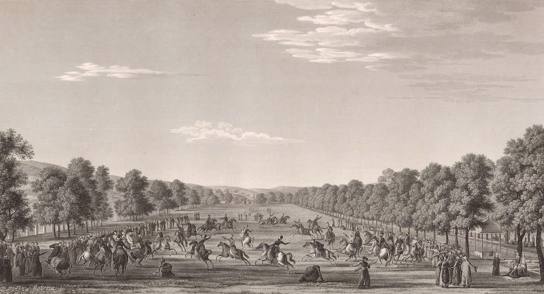 Voyage Pittoresque de Constantinople et des Rives du Bosphore Vol. 2 - No. 15. Kiâhd-Hané, lieu de plaisance du Grand-Seigneur (1819)