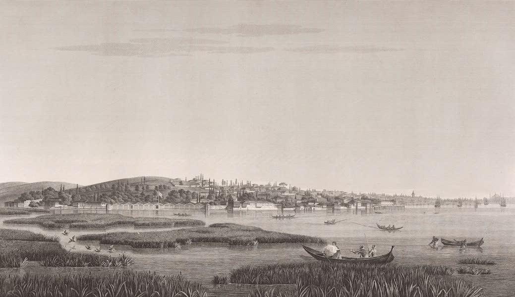 Voyage Pittoresque de Constantinople et des Rives du Bosphore Vol. 2 - No. 16. Vue de Kara-Aghatch, au fond du port (1819)