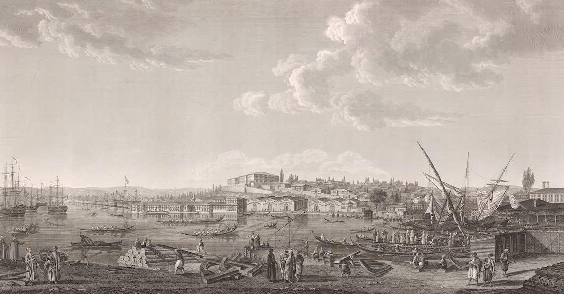 Voyage Pittoresque de Constantinople et des Rives du Bosphore Vol. 2 - No. 18. Vue de l'arsenal de Constantinople (1819)