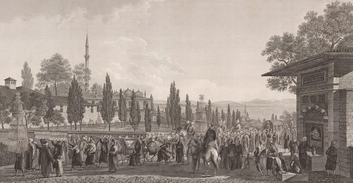 Voyage Pittoresque de Constantinople et des Rives du Bosphore Vol. 2 - No. 19. Cérémonie d'une noce turque (1819)