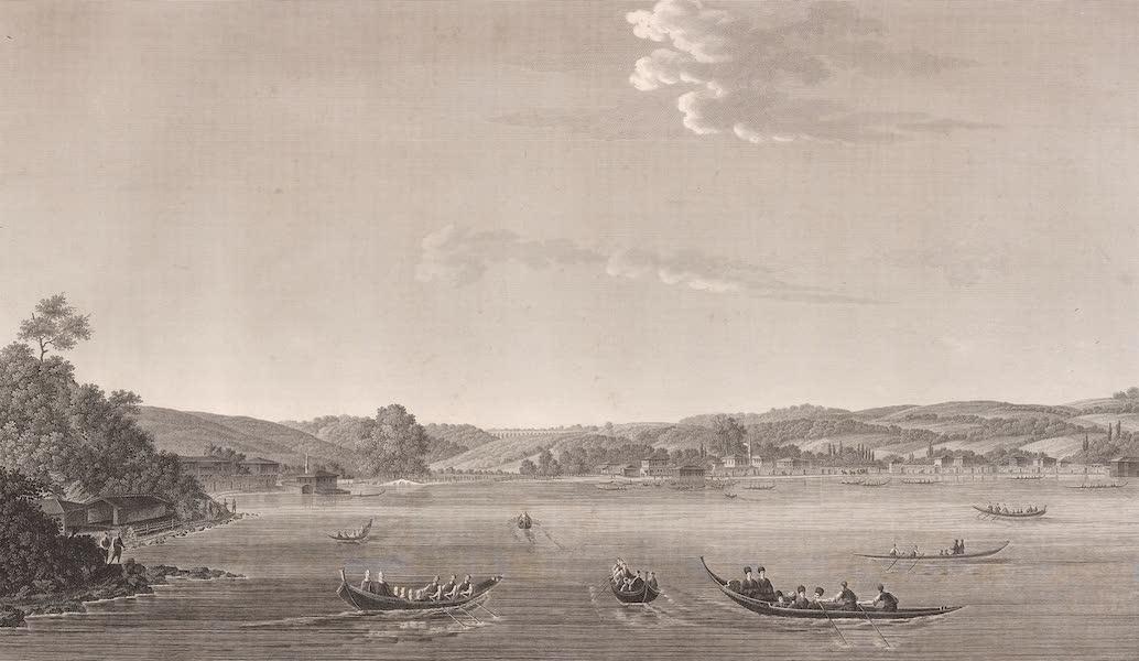 Voyage Pittoresque de Constantinople et des Rives du Bosphore Vol. 2 - No. 38. Vue de Keffeli-Kieuï, et d'une partie de Buyuk-Déré (1819)