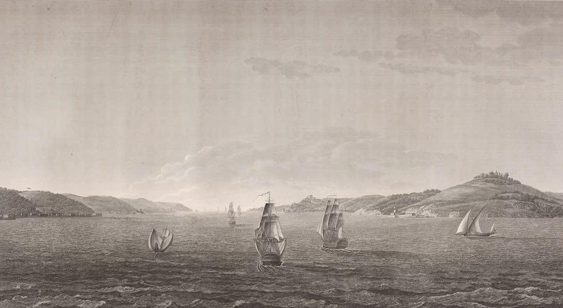 Voyage Pittoresque de Constantinople et des Rives du Bosphore Vol. 2 - No. 44. Vue de l'embouchure de la mer Noire (1819)