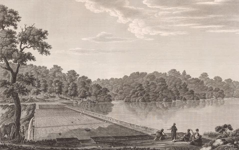 Voyage Pittoresque de Constantinople et des Rives du Bosphore Vol. 2 - No. 46. Vue de l'un des Bend, dans la forêt de Belgrade (1819)