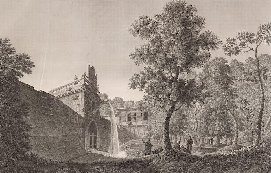 Voyage Pittoresque de Constantinople et des Rives du Bosphore Vol. 2 - No. 47. Vue du grand Bend, dans la forêt de Belgrade (1819)