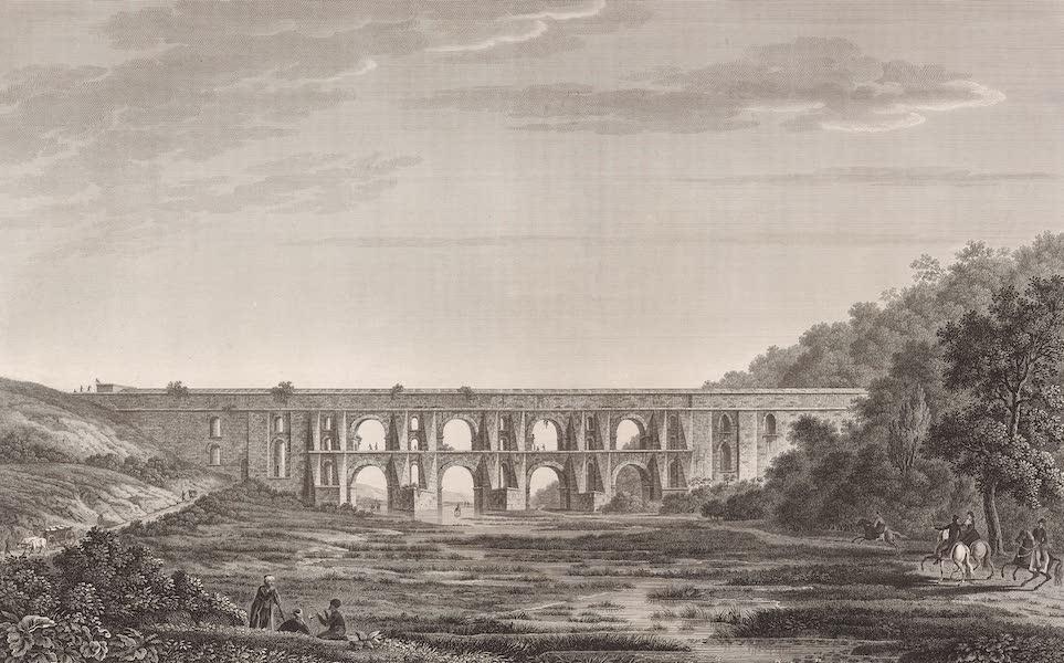 Voyage Pittoresque de Constantinople et des Rives du Bosphore Vol. 2 - No. 48. Aquéduc de l'empereur Justinien, à quatre lieues de Constantinople (1819)