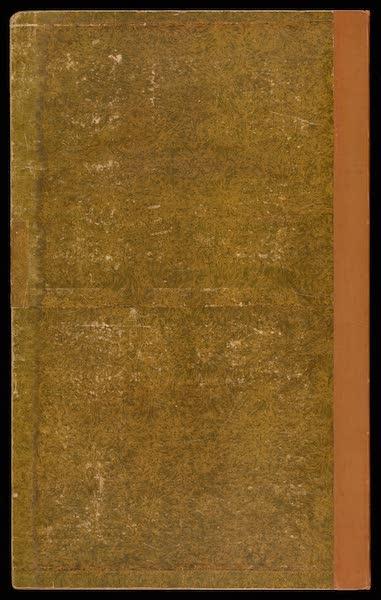 Voyage Pittoresque de Constantinople et des Rives du Bosphore Vol. 2 - Back Cover (1819)