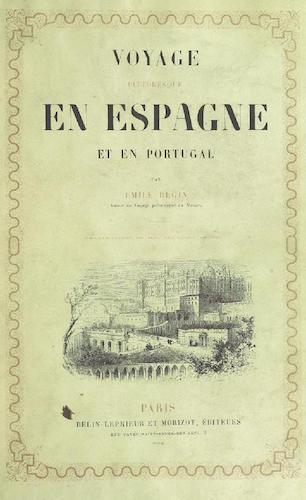 Costume - Voyage Pittoresque en Espagne et en Portugal