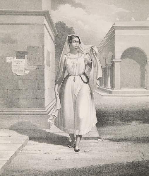 Voyage Pittoresque et Archeologique dans la Province d'Yucatan - Costume des Femmes de Campeche (1838)