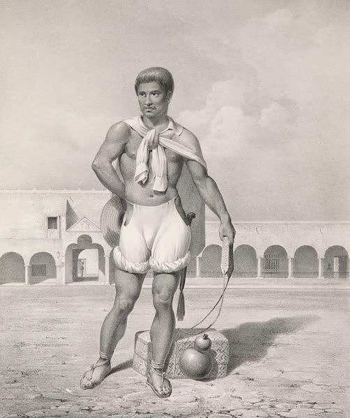 Voyage Pittoresque et Archeologique dans la Province d'Yucatan - Indien Contrebandier de l'intérieur (1838)
