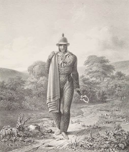 Voyage Pittoresque et Archeologique dans la Province d'Yucatan - Costume de Majordome des Fermes (1838)