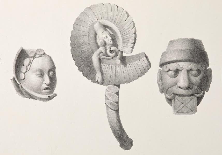 Voyage Pittoresque et Archeologique dans la Province d'Yucatan - Idoles et Vases en Terre Cuite [II] (1838)