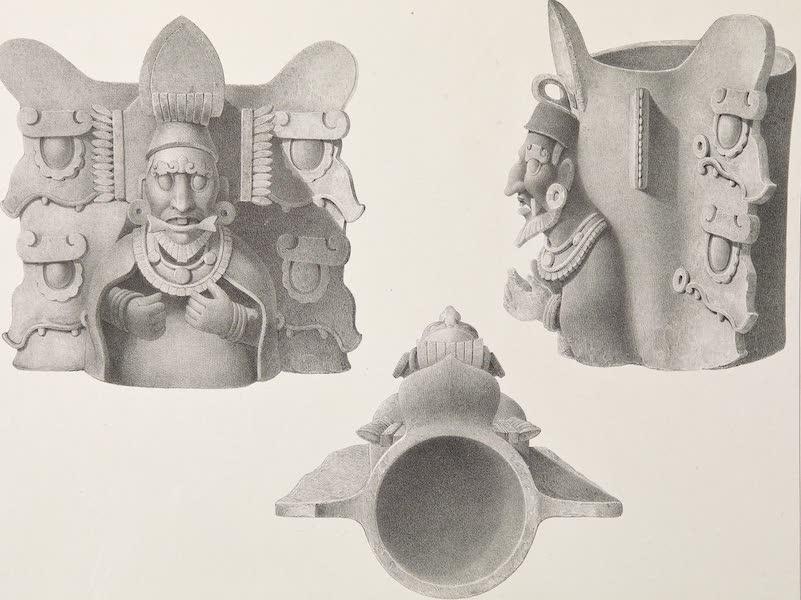 Voyage Pittoresque et Archeologique dans la Province d'Yucatan - Idoles et Vases en Terre Cuite [III] (1838)