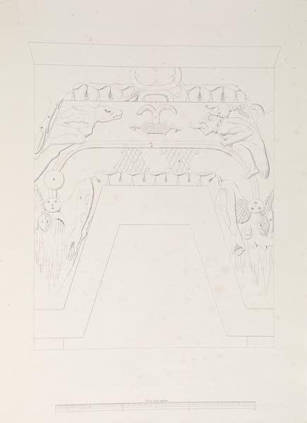 Voyage Pittoresque et Archeologique dans la Province d'Yucatan - Relief Astronomique de Palanque (1838)