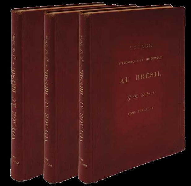 Voyage Pittoresque et Historique au Bresil Vol. 1 - Book Display (1834)