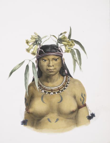 Voyage Pittoresque et Historique au Bresil Vol. 1 - Femme Camacan Mongoyo (1834)