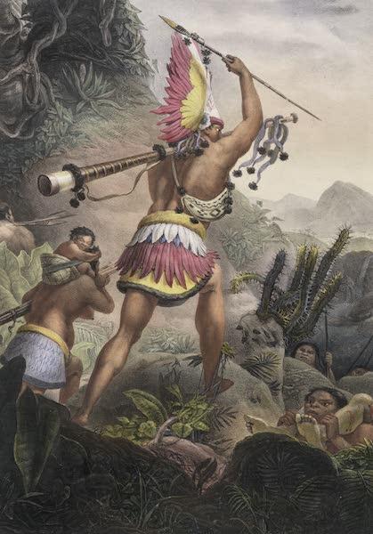 Voyage Pittoresque et Historique au Bresil Vol. 1 - Le signal de la retraite (Coroados Bororo) (1834)