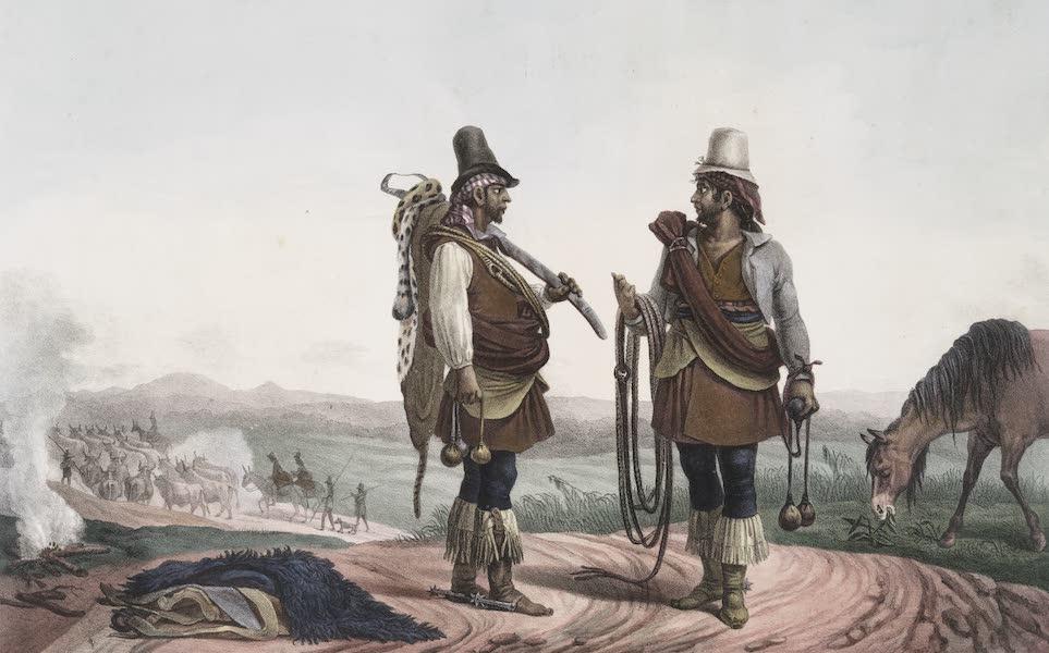 Voyage Pittoresque et Historique au Bresil Vol. 1 - Charruas Civilises (Pions) (1834)