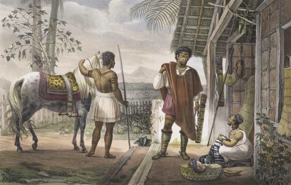 Voyage Pittoresque et Historique au Bresil Vol. 1 - Chef de Gouaycourous partant pour commercer avec les Europeens (1834)