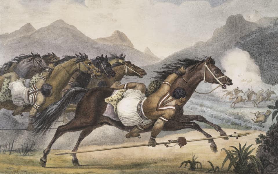 Voyage Pittoresque et Historique au Bresil Vol. 1 - Charge de Cavalerie Gouaycourous (1834)