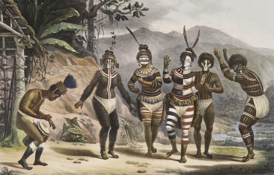 Voyage Pittoresque et Historique au Bresil Vol. 1 - Danse de Sauvages de la Mission de St. Jose (1834)