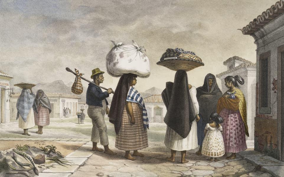 Femmes Cabocles (Sauvages Civilises) vivant du metier de blanchisseuses dans la Ville de Rio Janeiro