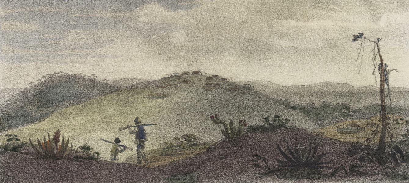 Voyage Pittoresque et Historique au Bresil Vol. 1 - Village (Aldea) de Soldats Indiens Civilises (1834)