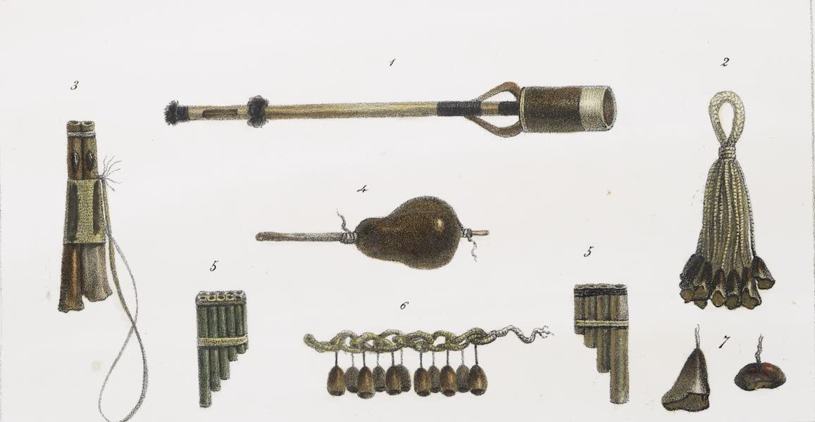 Voyage Pittoresque et Historique au Bresil Vol. 1 - Instrumens de Musique (1834)
