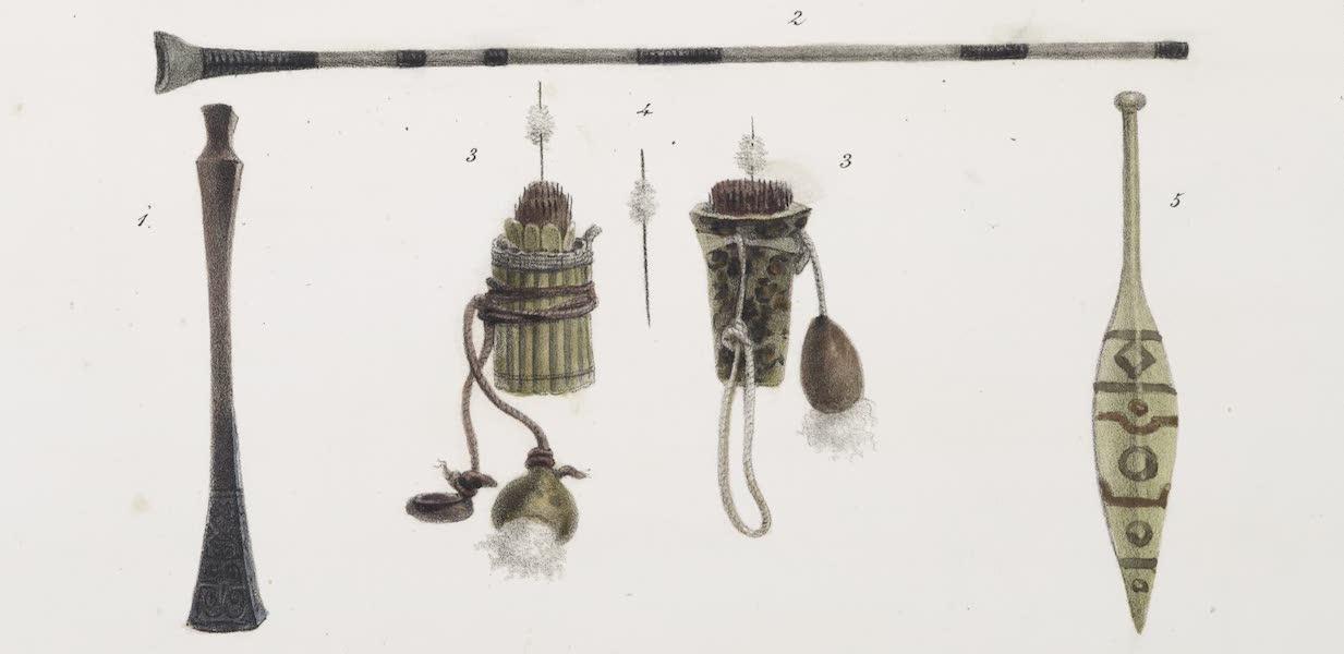Voyage Pittoresque et Historique au Bresil Vol. 1 - Armes Offensives, Rame (1834)