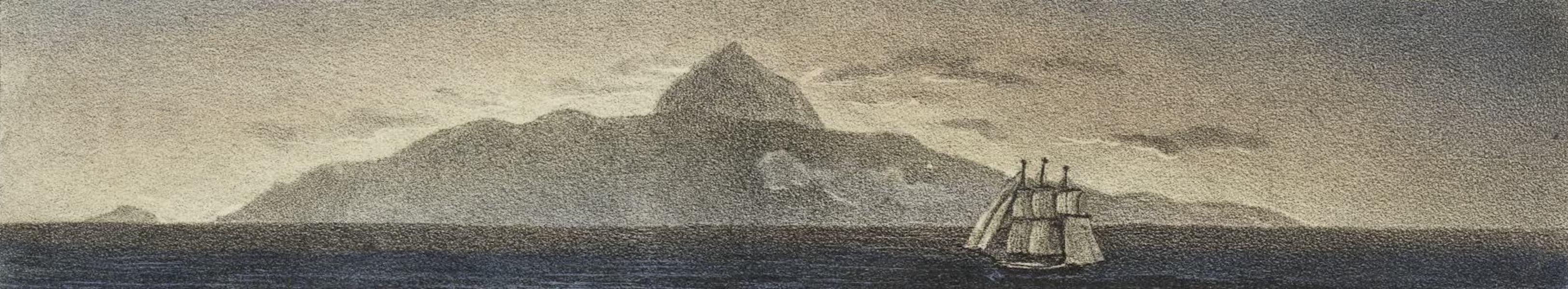 Voyage Pittoresque et Historique au Bresil Vol. 2 - Pic de Tenerife (1835)