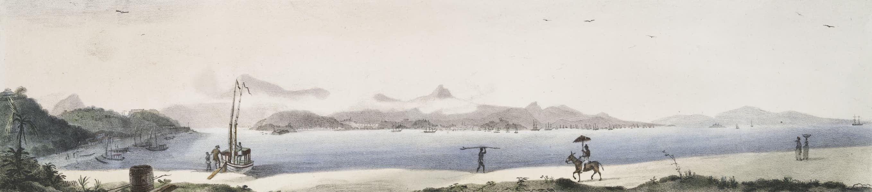 Voyage Pittoresque et Historique au Bresil Vol. 2 - Vue generale de la Ville de Rio de Janeiro (1835)