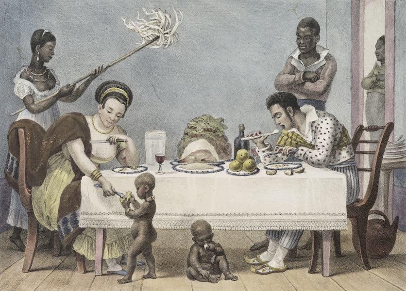 Voyage Pittoresque et Historique au Bresil Vol. 2 - Le Diner (1835)