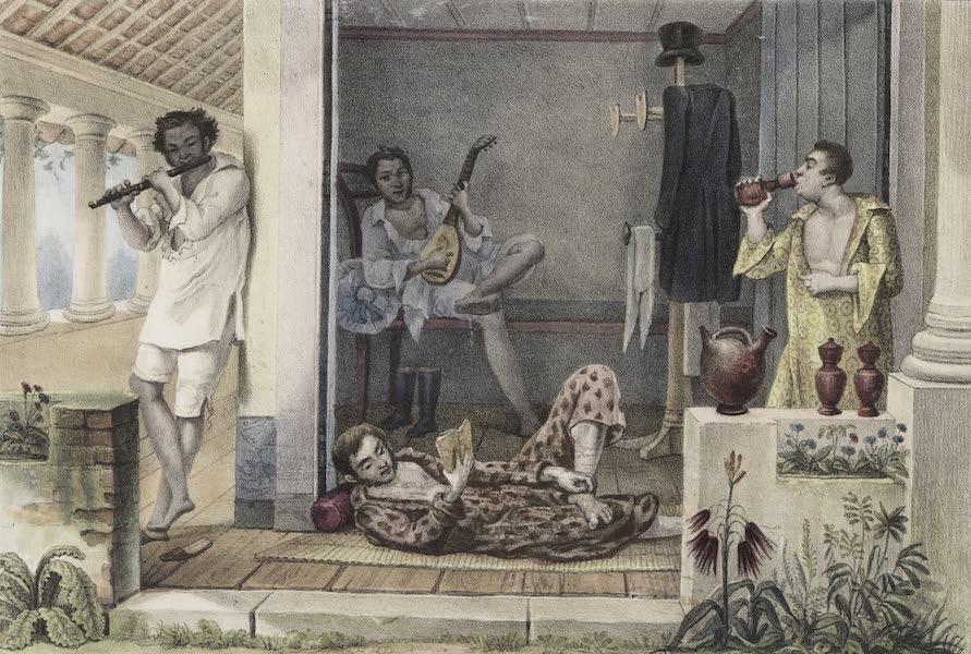 Voyage Pittoresque et Historique au Bresil Vol. 2 - Les délassements d'une après Diner (1835)