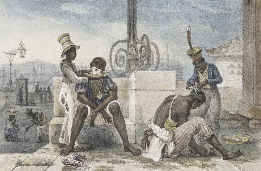 Voyage Pittoresque et Historique au Bresil Vol. 2 - Les Barbiers Ambulants (1835)
