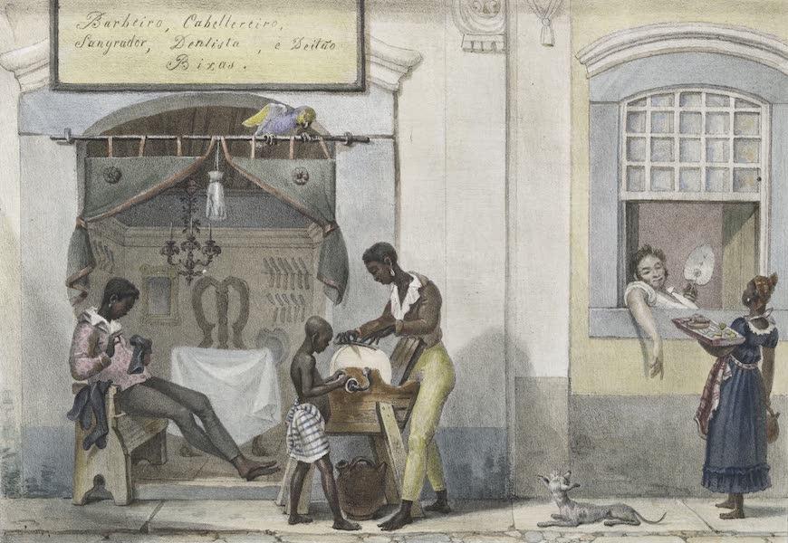 Voyage Pittoresque et Historique au Bresil Vol. 2 - Boutique de Barbiers (1835)