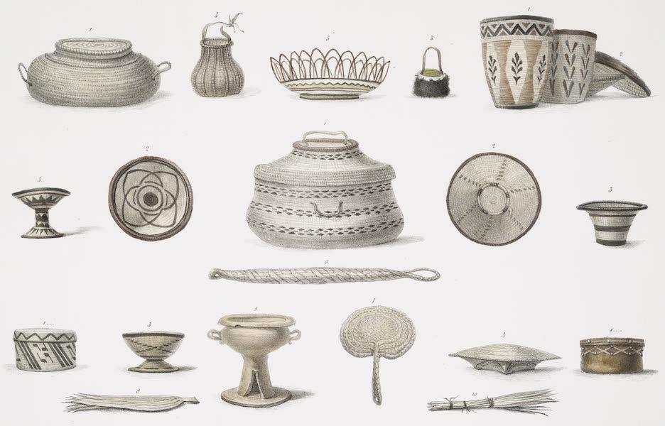 Voyage Pittoresque et Historique au Bresil Vol. 2 - Vannerie (1835)