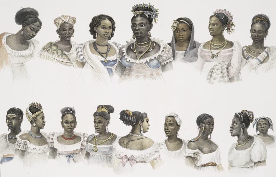 Voyage Pittoresque et Historique au Bresil Vol. 2 - Esclaves Negres, de différentes Nations (1835)