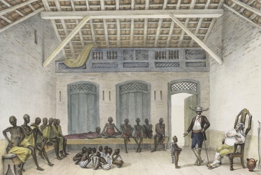 Voyage Pittoresque et Historique au Bresil Vol. 2 - Boutique de la Rue du Val-Longo (1835)