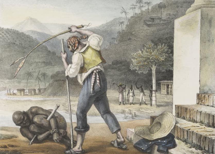 Voyage Pittoresque et Historique au Bresil Vol. 2 - Feitors corrigeant des Negres (1835)