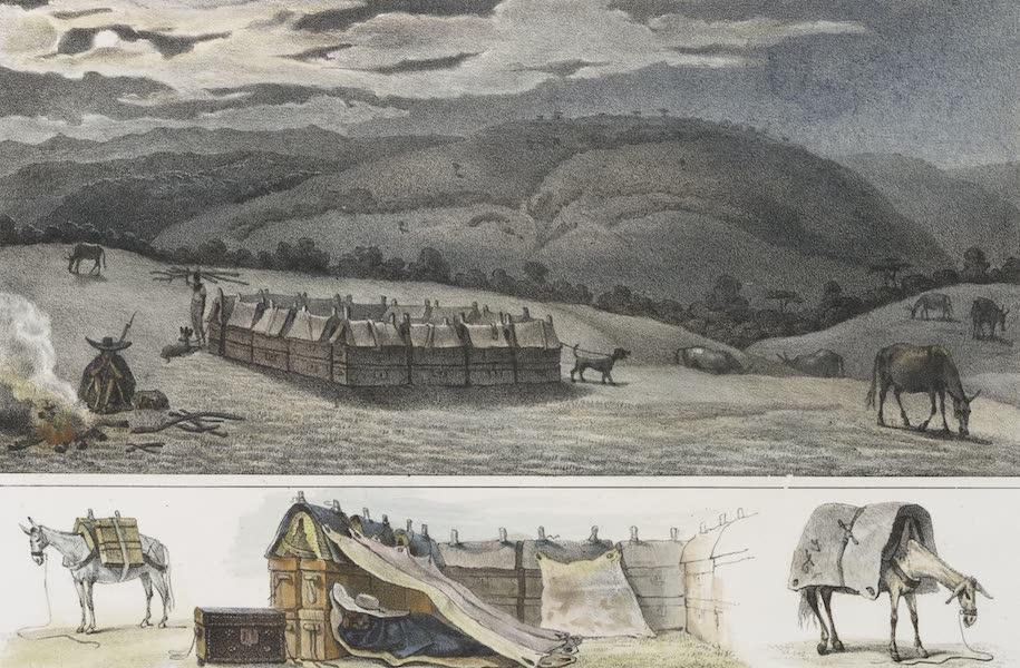 Voyage Pittoresque et Historique au Bresil Vol. 2 - Camp nocturne de voyageurs (1835)